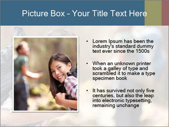 Smiling in forest PowerPoint Template - Slide 13
