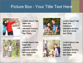 Smiling in forest PowerPoint Template - Slide 14