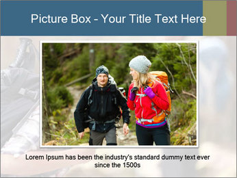 Smiling in forest PowerPoint Template - Slide 15
