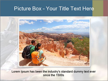 Smiling in forest PowerPoint Template - Slide 16
