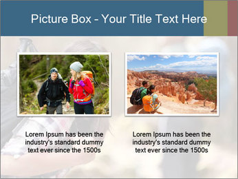 Smiling in forest PowerPoint Template - Slide 18