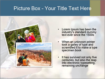 Smiling in forest PowerPoint Template - Slide 20