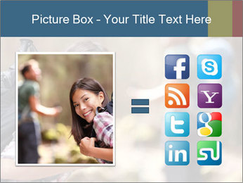 Smiling in forest PowerPoint Template - Slide 21