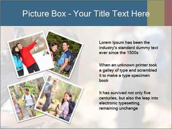 Smiling in forest PowerPoint Template - Slide 23