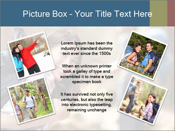 Smiling in forest PowerPoint Template - Slide 24