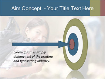 Smiling in forest PowerPoint Template - Slide 83