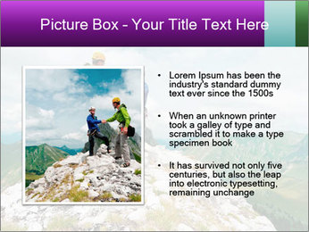 Two climbers PowerPoint Templates - Slide 13