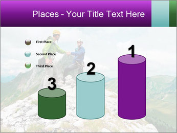 Two climbers PowerPoint Templates - Slide 65