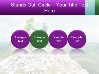 Two climbers PowerPoint Templates - Slide 76