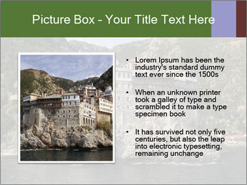 Mount Athos PowerPoint Template - Slide 13