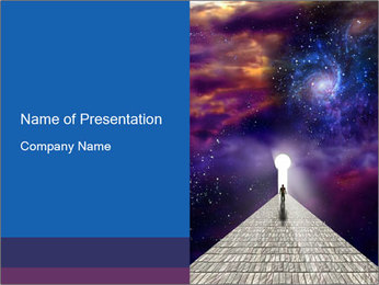 Starry PowerPoint Templates - Slide 1