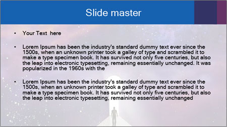 Starry PowerPoint Template - Slide 2