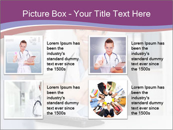 Doctor in office PowerPoint Template - Slide 14