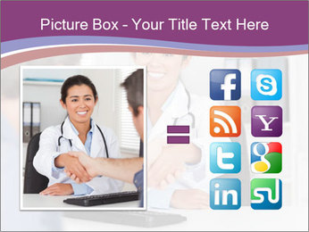 Doctor in office PowerPoint Template - Slide 21