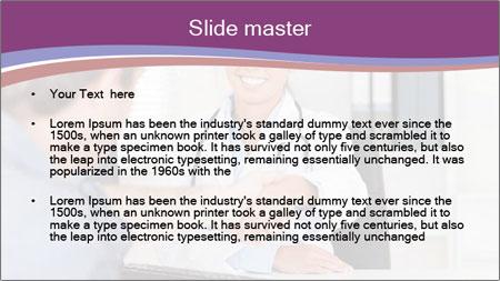 Doctor in office PowerPoint Template - Slide 2