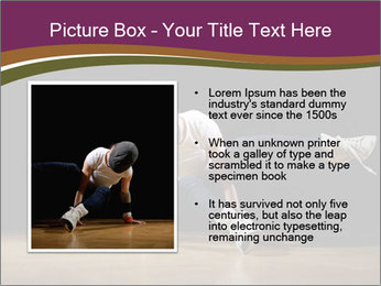 Girl in dance PowerPoint Template - Slide 13