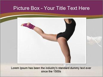 Girl in dance PowerPoint Template - Slide 15
