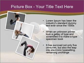 Girl in dance PowerPoint Template - Slide 17