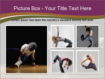 Girl in dance PowerPoint Template - Slide 19