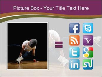 Girl in dance PowerPoint Template - Slide 21