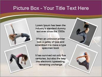 Girl in dance PowerPoint Template - Slide 24