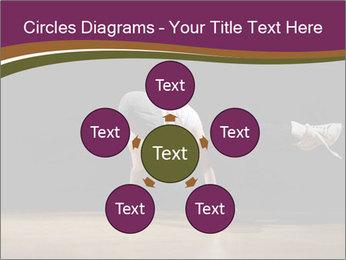 Girl in dance PowerPoint Template - Slide 78