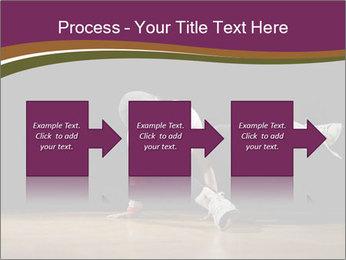 Girl in dance PowerPoint Template - Slide 88
