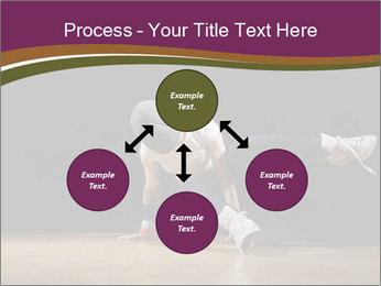 Girl in dance PowerPoint Template - Slide 91