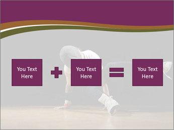 Girl in dance PowerPoint Template - Slide 95
