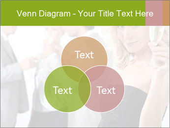 Woman at a party PowerPoint Template - Slide 33