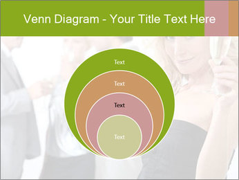 Woman at a party PowerPoint Template - Slide 34