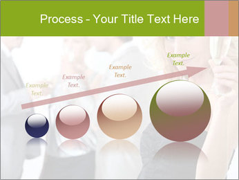 Woman at a party PowerPoint Template - Slide 87
