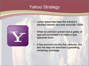 Beautiful girl PowerPoint Template - Slide 11