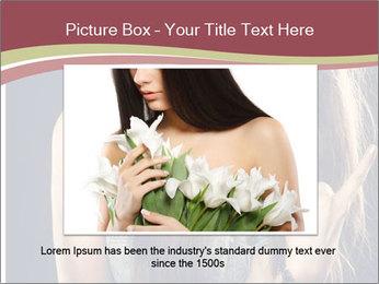 Beautiful girl PowerPoint Template - Slide 16