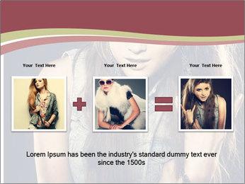 Beautiful girl PowerPoint Template - Slide 22