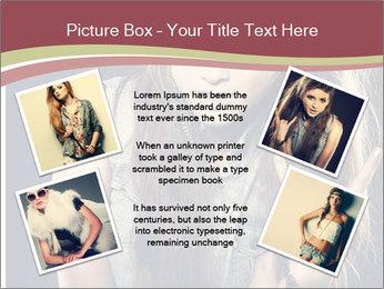 Beautiful girl PowerPoint Template - Slide 24