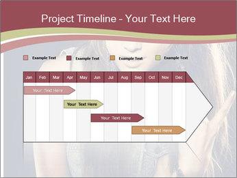 Beautiful girl PowerPoint Template - Slide 25