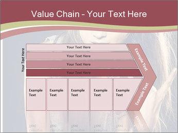 Beautiful girl PowerPoint Template - Slide 27