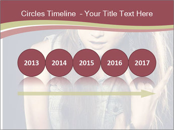 Beautiful girl PowerPoint Templates - Slide 29