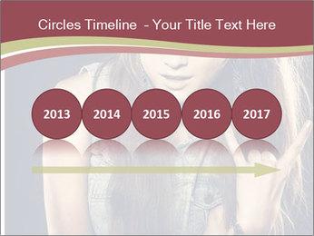 Beautiful girl PowerPoint Template - Slide 29