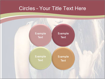 Beautiful girl PowerPoint Template - Slide 38