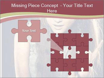 Beautiful girl PowerPoint Template - Slide 45