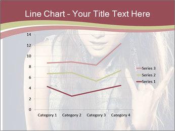 Beautiful girl PowerPoint Template - Slide 54