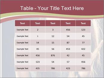 Beautiful girl PowerPoint Template - Slide 55
