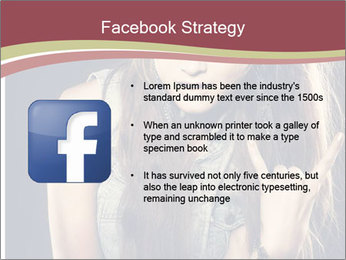 Beautiful girl PowerPoint Template - Slide 6