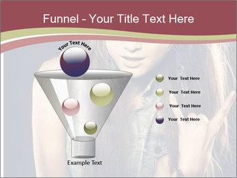 Beautiful girl PowerPoint Template - Slide 63