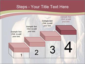 Beautiful girl PowerPoint Template - Slide 64