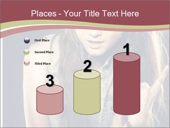 Beautiful girl PowerPoint Templates - Slide 65