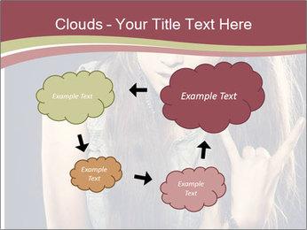 Beautiful girl PowerPoint Template - Slide 72