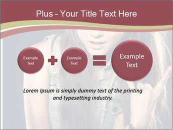 Beautiful girl PowerPoint Template - Slide 75